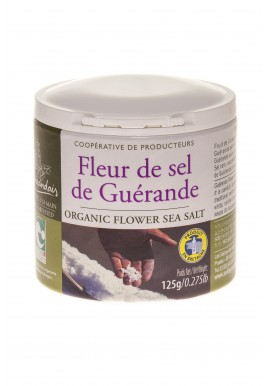 Fleur de sel en pot