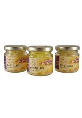 Honey throat lozenge in flavor Cranberry , le mas des abeilles
