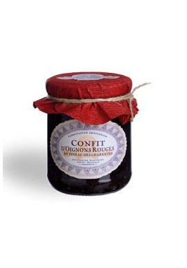 Confit d'oignons rouges au Pineau des Charentes rosé