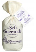 real salt of Guérande in canvas bag