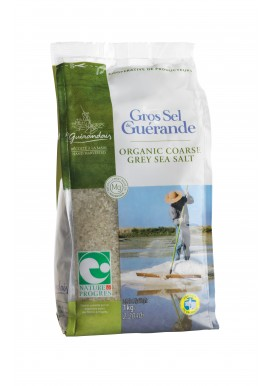 Guerande sea salt in bag