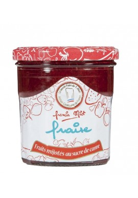Confiture de fraise au sucre de canne par Françis Miot  x3