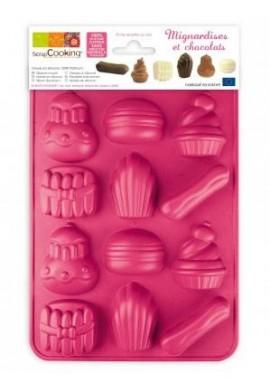 "Moule ScrapCooking® ""Chocolats mignardises"""