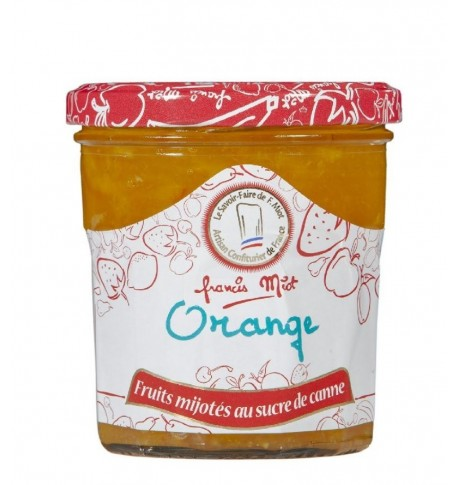 Confiture d'orange au sucre de canne par Françis Miot