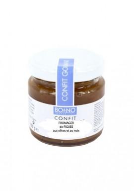 Confit fromager figue olive et noix par Bo&No
