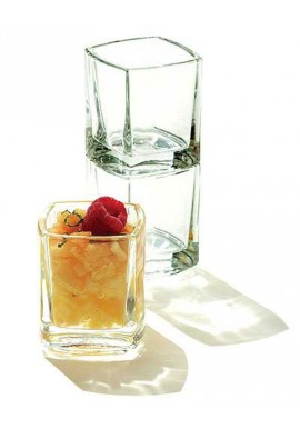 Verrine mise en bouche kube empilable 5cl x6