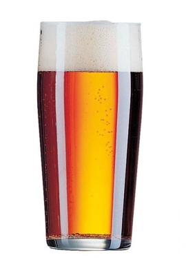beer glasses Willy Becher 33 cl x12
