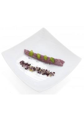 "Assiette creuse ""FOOD'JI"" 22 x 22 cm x6"