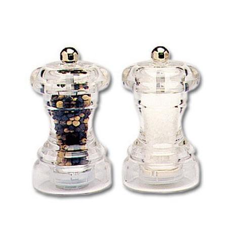 Moulin à sel acrylique 10cm