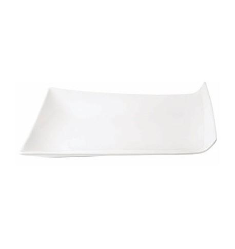 "Assiette plate ""Cooper"" 20,5 x 15 cm x4"