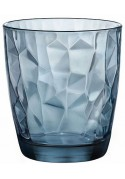 "Gobelet ""Diamond"" Acqua bleu 30 cl (x 6)"