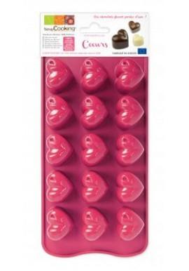 Moule chocolat coeur ScrapCooking®