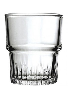 Gobelet empilable en verre trempé 16 cl (x 4)