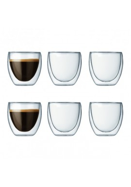 Set de 6 tasses 'pavina' 8 cl