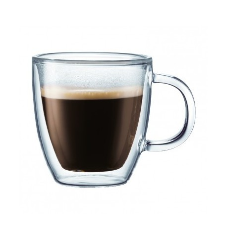 Set de 2 tasses à espresso 30 cL 'bistro'