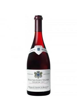 Bourgogne Pinot noir - Beaune 1er cru Les Cents Vignes 2007 , Château de Meursault  Aoc demi bouteille