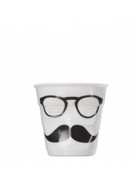 Gobelet espresso froissés white monsieur
