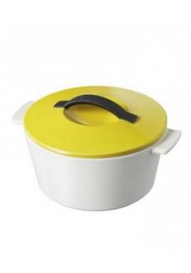 cocotte ronde revol jaune seychelles 13cm