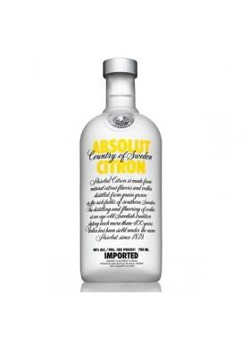 absolut aromatisée citron 0.7L