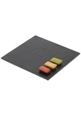 Ardoise carrée gamme éco 20 x 20 cm x4