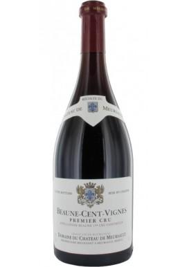 Bourgogne rouge Beaune Premier Cru rouge 2012 Les Cents vignes , Château de Meursault AOP demi bouteille