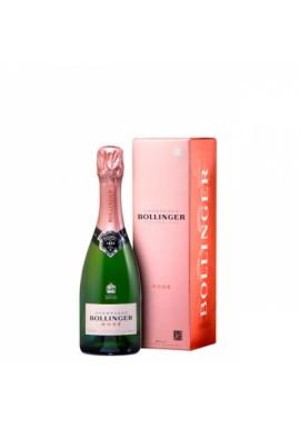 Bollinger rosé 37,5cl étui x12