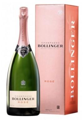 Bollinger rosé 150cl étui x3