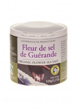 Flower of salt in jar