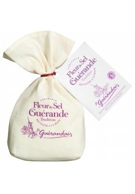 real Flower of salt in linen bag