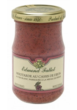Moutarde au cassis de Dijon, Edmond Fallot