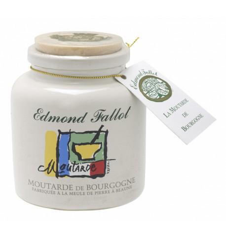 Mustard of Burgundy(Bourgogne) in jar wills, Edmond Fallot