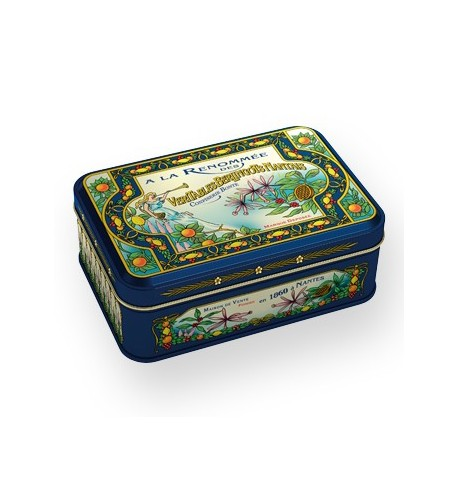 Box Collection of boiled sweets in the fame 1860, matched with 7 perfumes Bonté