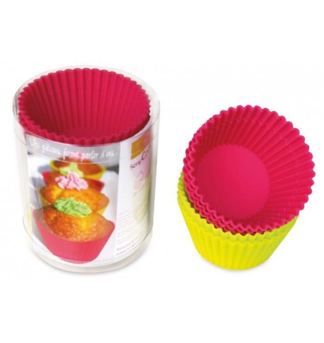 100 small boxes of colors for Cupcakes Scrapcooking ®