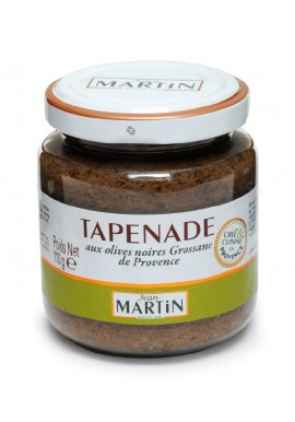 Tapenade black olives, Jean Martin
