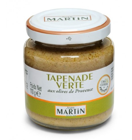Tapenade olives vertes, Jean Martin