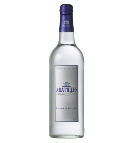 Natural mineral water ABATILLES of high quality