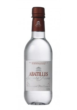 Natural mineral water ABATILLES finely sparkling 0.5L
