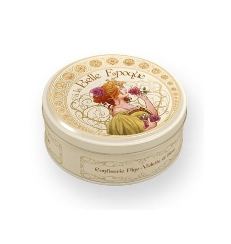 懐かしのフラワーキャンディーコレクションボックス1900(スミレの風味、バラの風味)