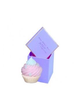 Boite bougie cupcake mauve de Catherine Masson