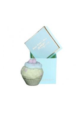 Boite bougie cupcake turquoise de Catherine Masson