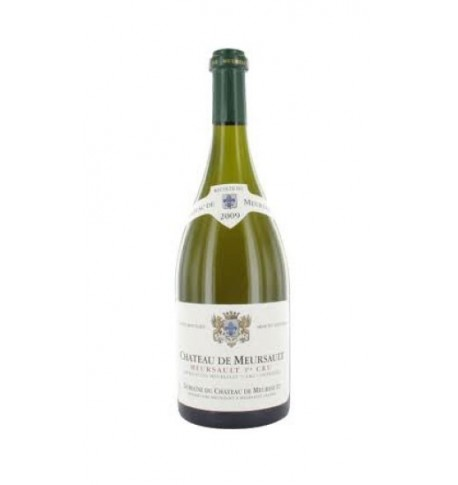 White wine Château of Meursault classified vintage 2009, Aoc half bottle