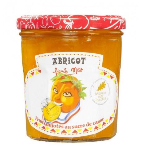 Confiture d'abricot au sucre de canne par Françis Miot