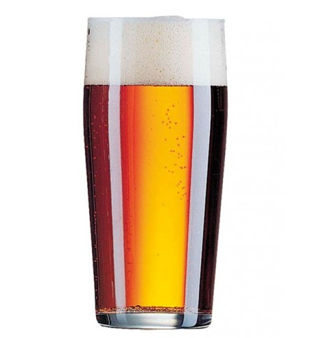 Verre à bière Willy Becher 33 cl x12