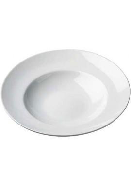 Porcelain pasta plate