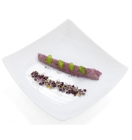 "Assiette creuse ""FOOD'JI"" 22 x 22 cm"