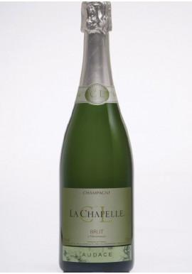 champagne AUDACE brut demi-bouteille