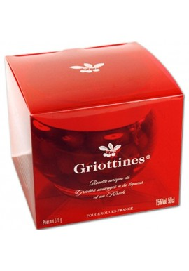 Set of 15% original griottines (liqueur and kirsch) Pilleux Distillery