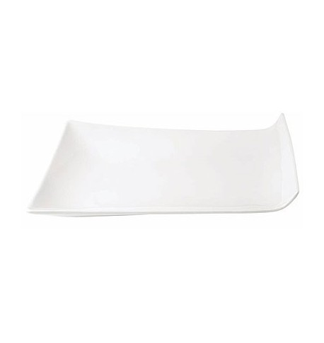 "Assiette plate ""Cooper"" 30,5 x 22,3 cm x3"