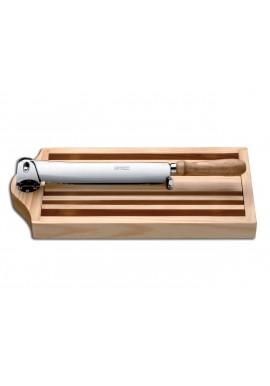 Planche à pain avec couteau intégré