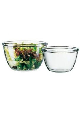 Saladier cocoon en verre trempé 240 cl